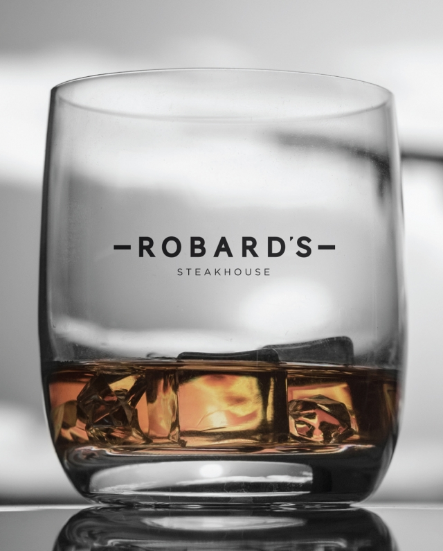 Robard's whiskey glass